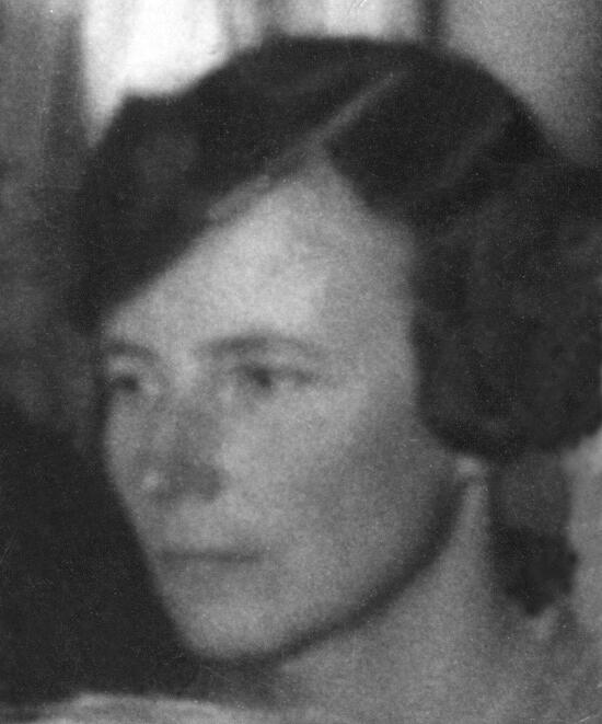 Elise Ottesen-Jensen vid Ungsocialisternas rikskonferens 1929.