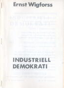 Industriell demokrati